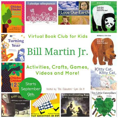 Announcing the Bill Martin Jr. Virtual Book Club for Kids