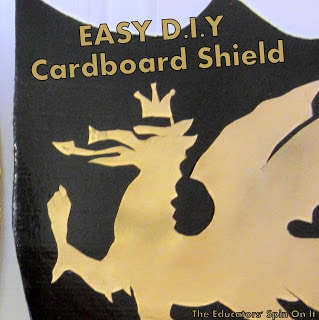 D.I.Y Knight Shield for Pretend Costume Play