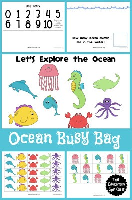 Ocean Animal Busy Bag
