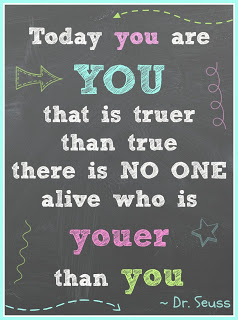 Dr. Seuss Quote Today You are You with Printable