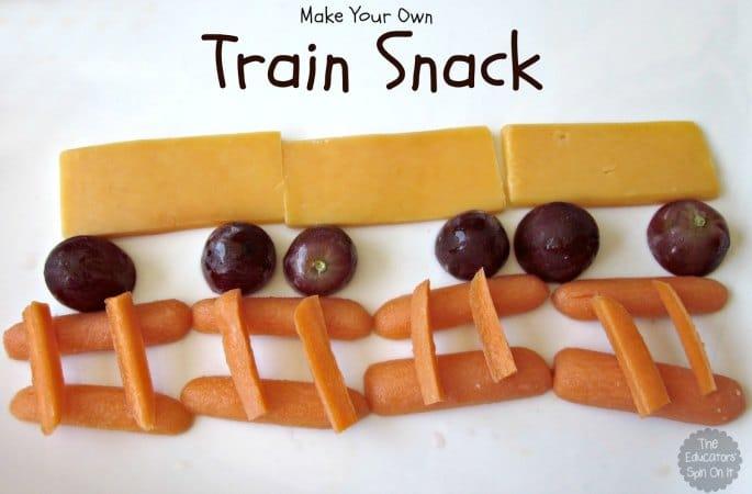 Train Snack Ideas for Kids