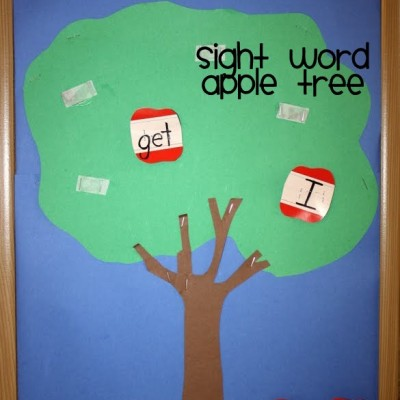 Learning Apple Sight Word Game for Kindergarten