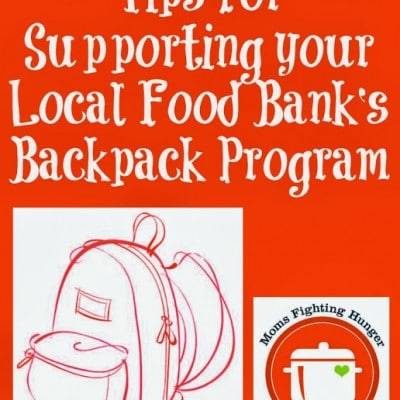 Supporting your Local Backpack Program to Fight Hunger
