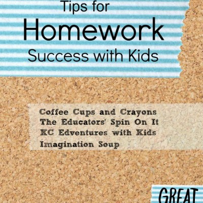 Tips for Homework Success with Kids {After School Link Up}