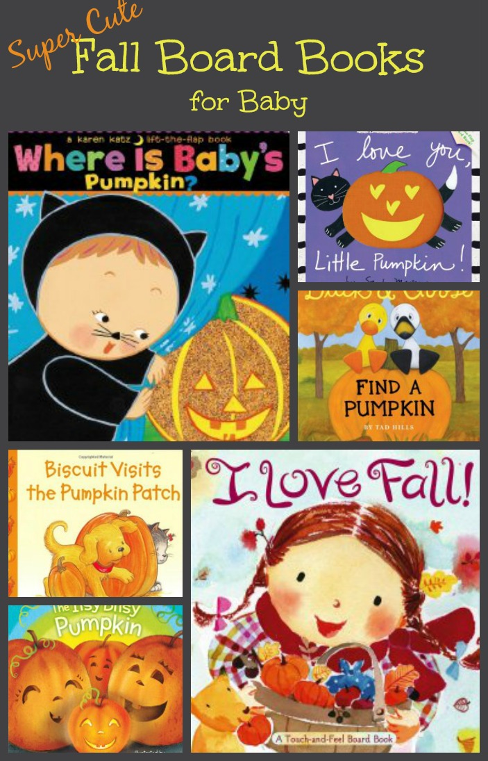 Fall board books for babies: Add to your home library