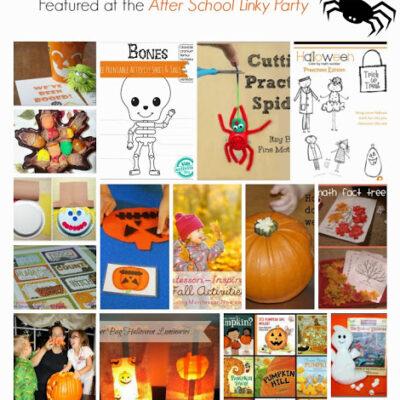 Halloween Activities for Kids for After School