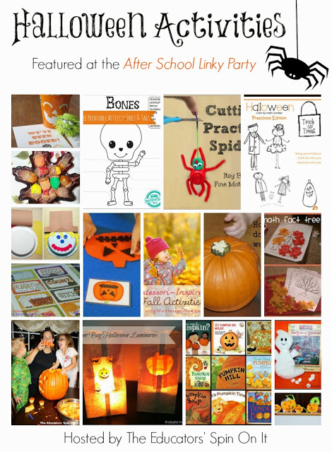Collection of Halloween Activities for After Schoolers