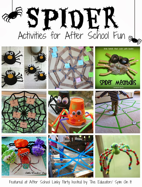 Spider Activities for School Ages