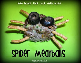 Spider Meatballs: Little Hands that Cook with Books