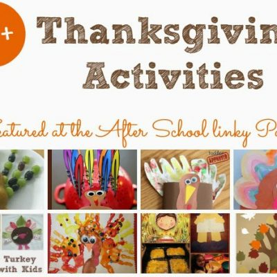 Thanksgiving Activities for School Aged Kids