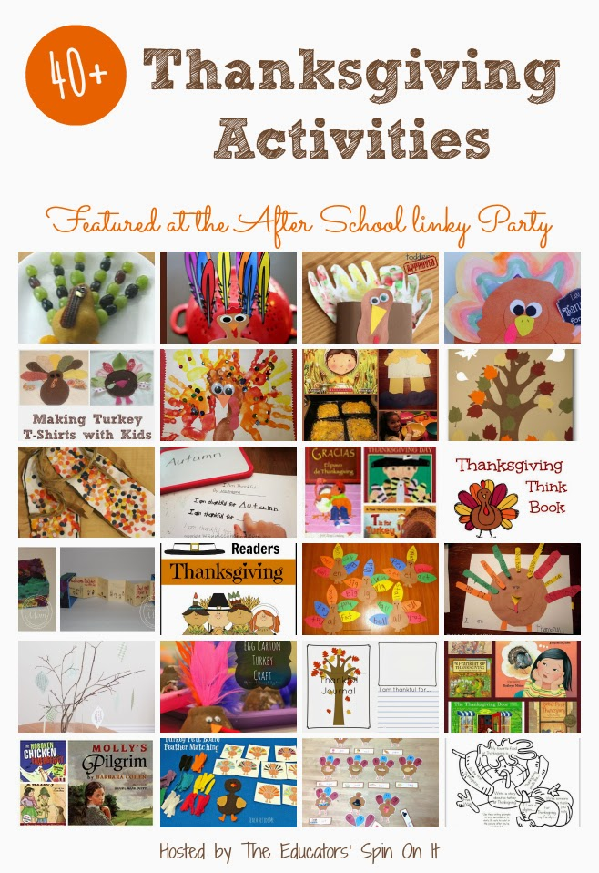 40+ Thanksgiving Activities for School Ages. Fun and Easy Activities featuring Turkeys, Pilgrims, Native Americans and Gratitude projects for a special turkey day with your child. #thanksgiving #kids