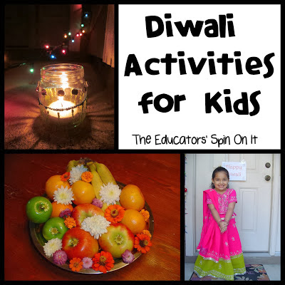 Diwali Activities for Kids Diyas and Coloring Sheets