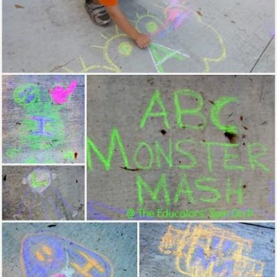 ABC Monster Mash Outside Letter Game