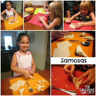 Recipe for Making Samosas with Kids for Diwali