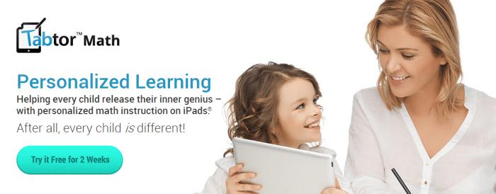 Try Tabtor Math for iPad FREE for 2 Weeks via B-Inspired Mama