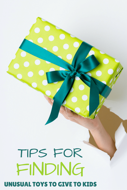 Tips for Finding Unusual Toys and Gifts to Give to Kids