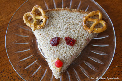 edible craft, reindeer craft