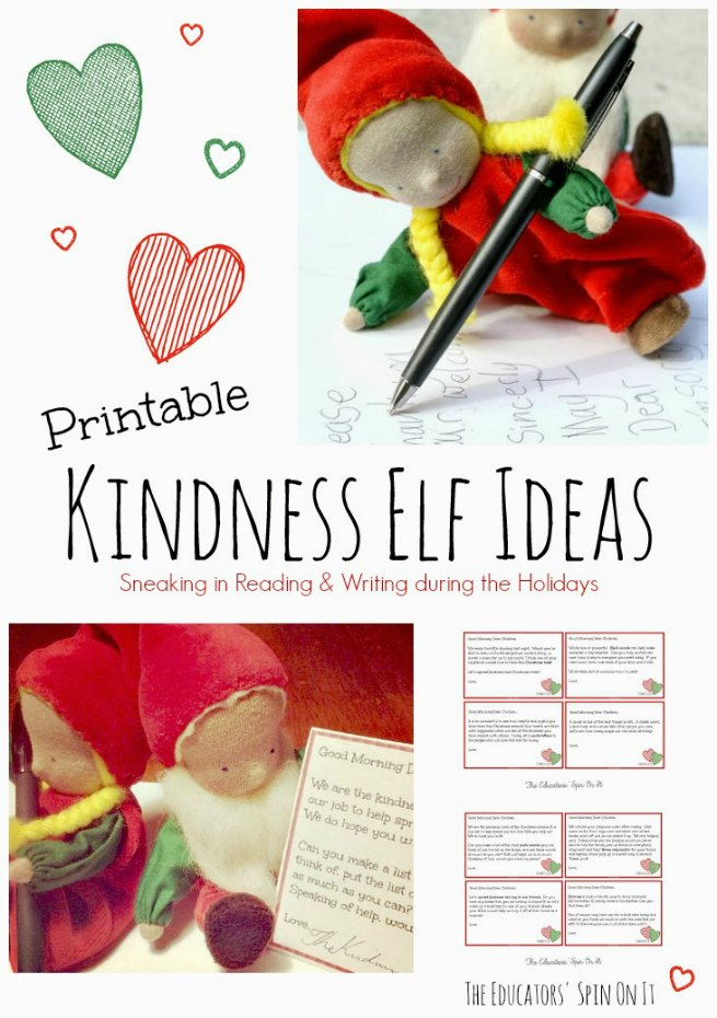 Kindness Elf Ideas with Printables