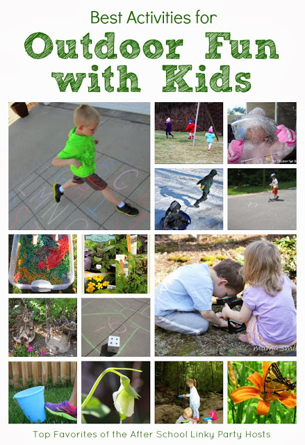 Outdoor fun and learning with kids