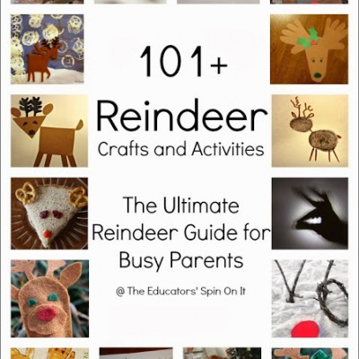 101+ Reindeer Crafts and Learning Activities – The Ultimate Parenting Resource for Reindeer