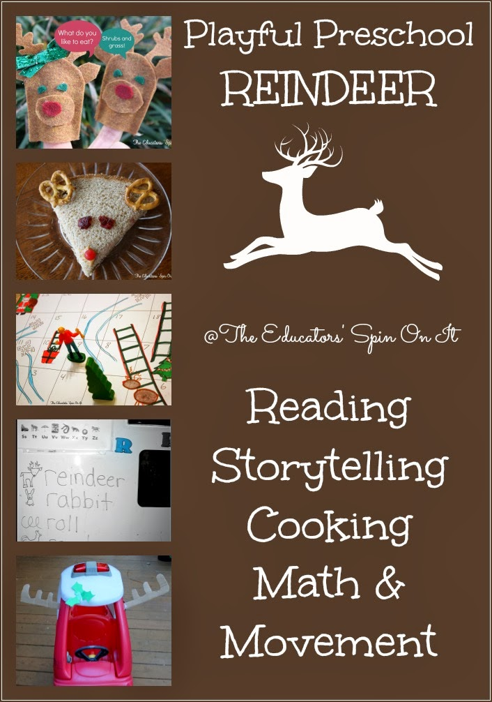 reindeer activities for winter preschool activities