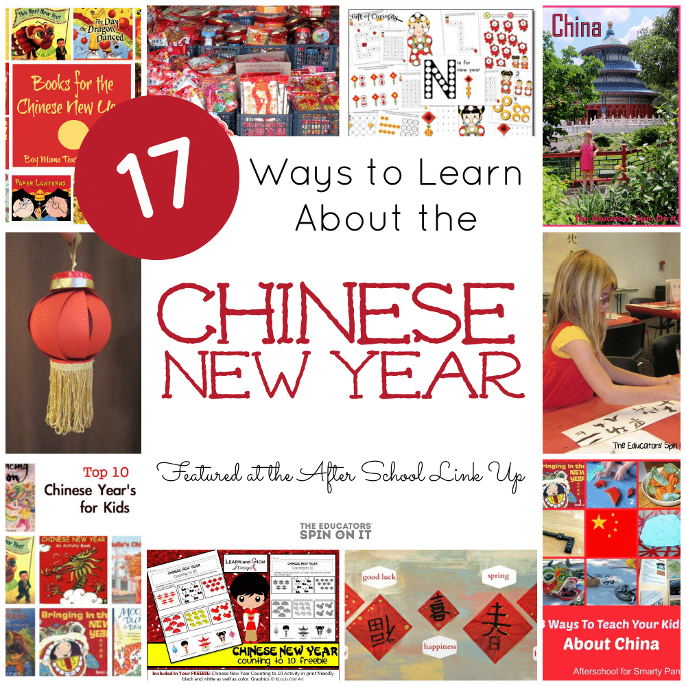 17 Ways to learn about the Chinese New year with Kids