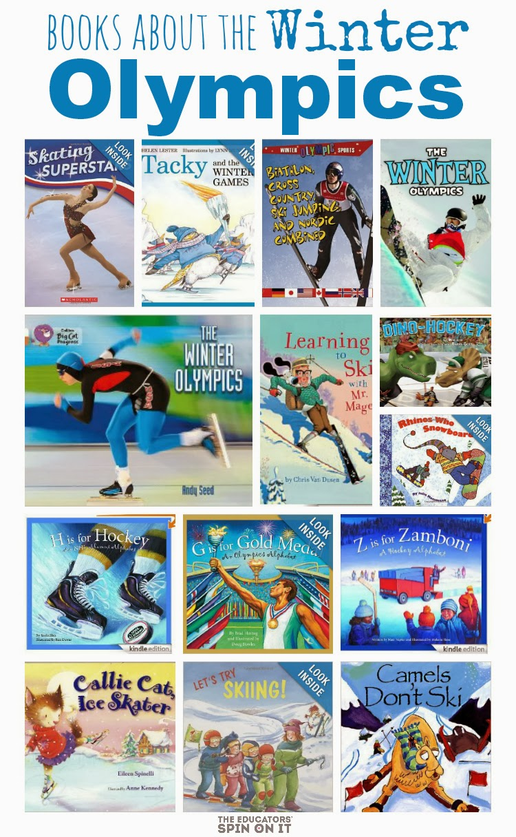 Books About the Winter Olympic by The Educators' Spin On It #olympics #eduspin
