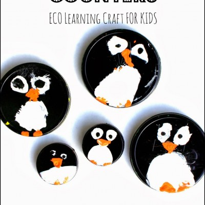 Penguin Math Counters for Preschool Learning