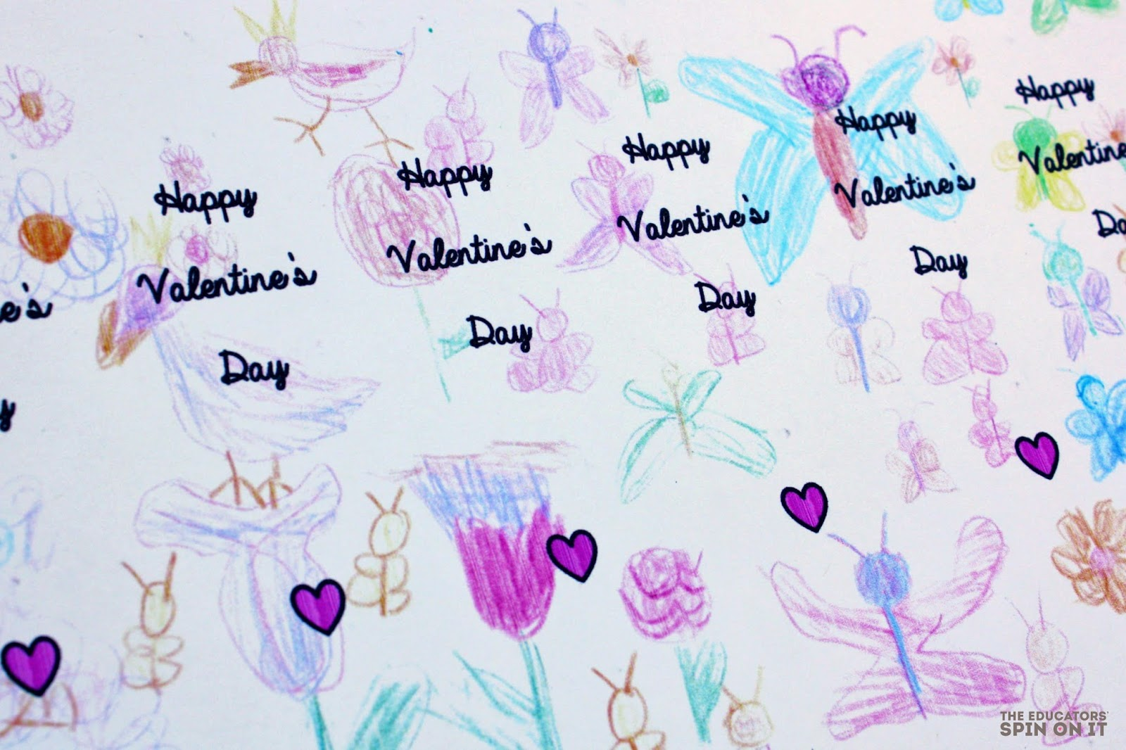 EASY DIY Kid-Made Valentines; Butterfly Bookmarks