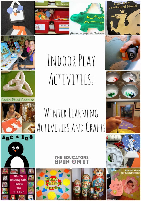 Indoor Play Activities for Kids for a Survival Guide for Indoors on Cold Winter Days
