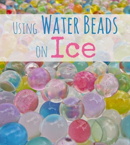 Water Beads and Ice Activity