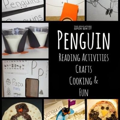 Penguin Cooking, Crafts, Reading Activities and FUN!