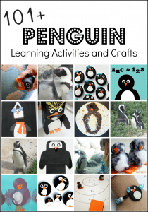 101+ Penguin Learning Activities and Crafts