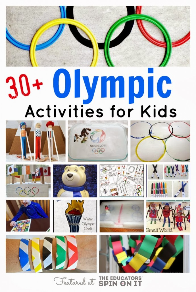 30+ Winter Olympic Activities for Kids