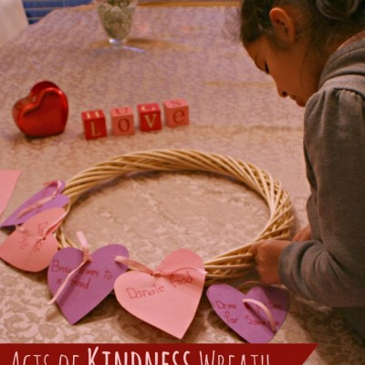 Random Acts of Kindness Wreath