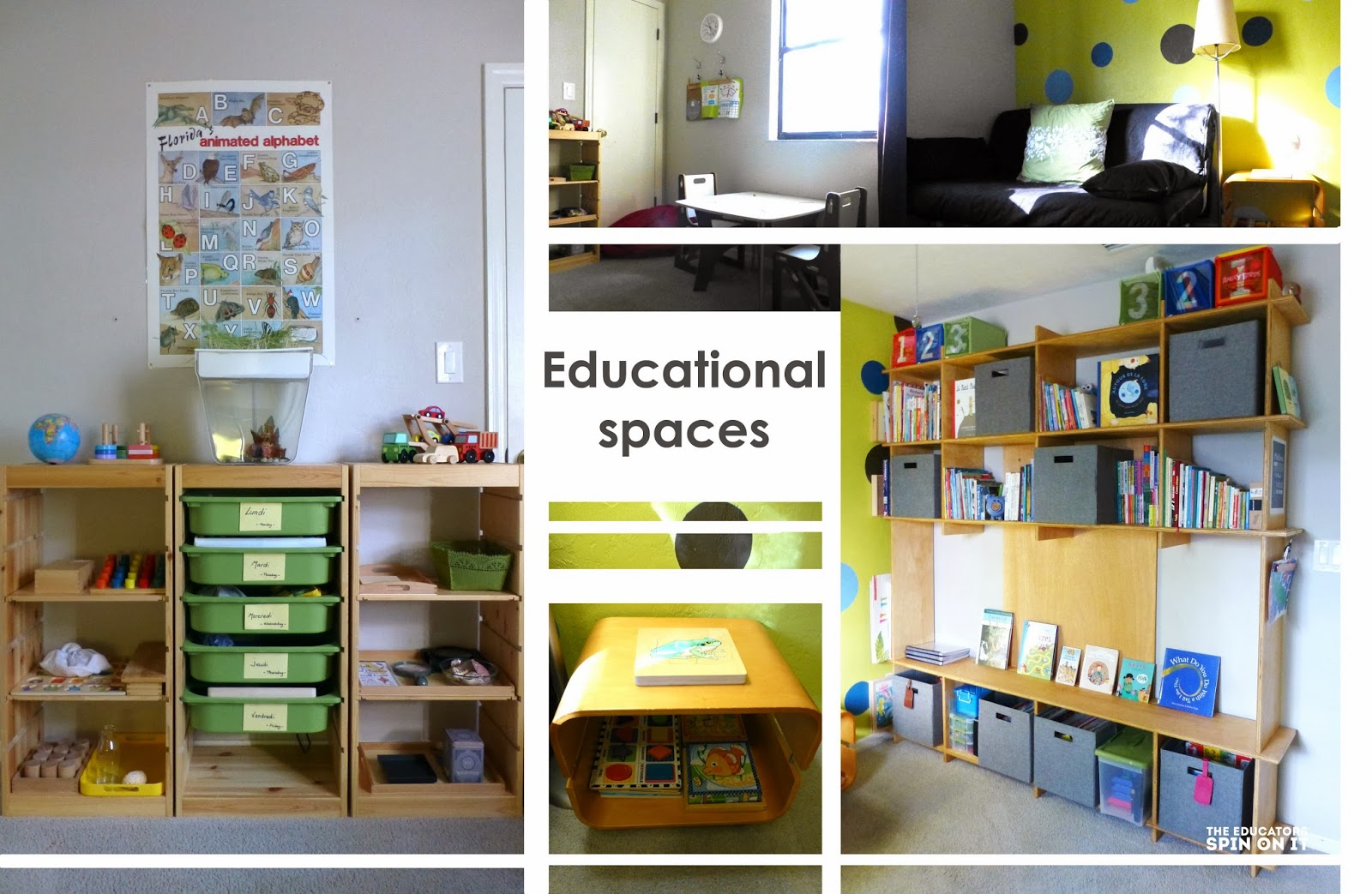 Educational Learning Space for Young Children