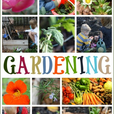 Kids in the Garden; Learning and Growing