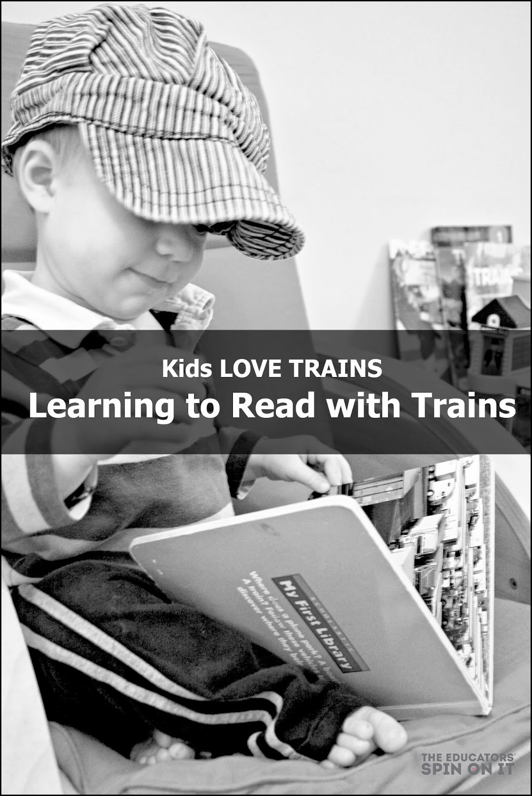 reading with trains