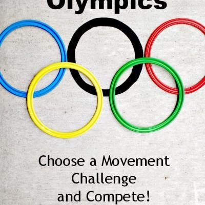 Living Room Olympics; Movement Activities for Children