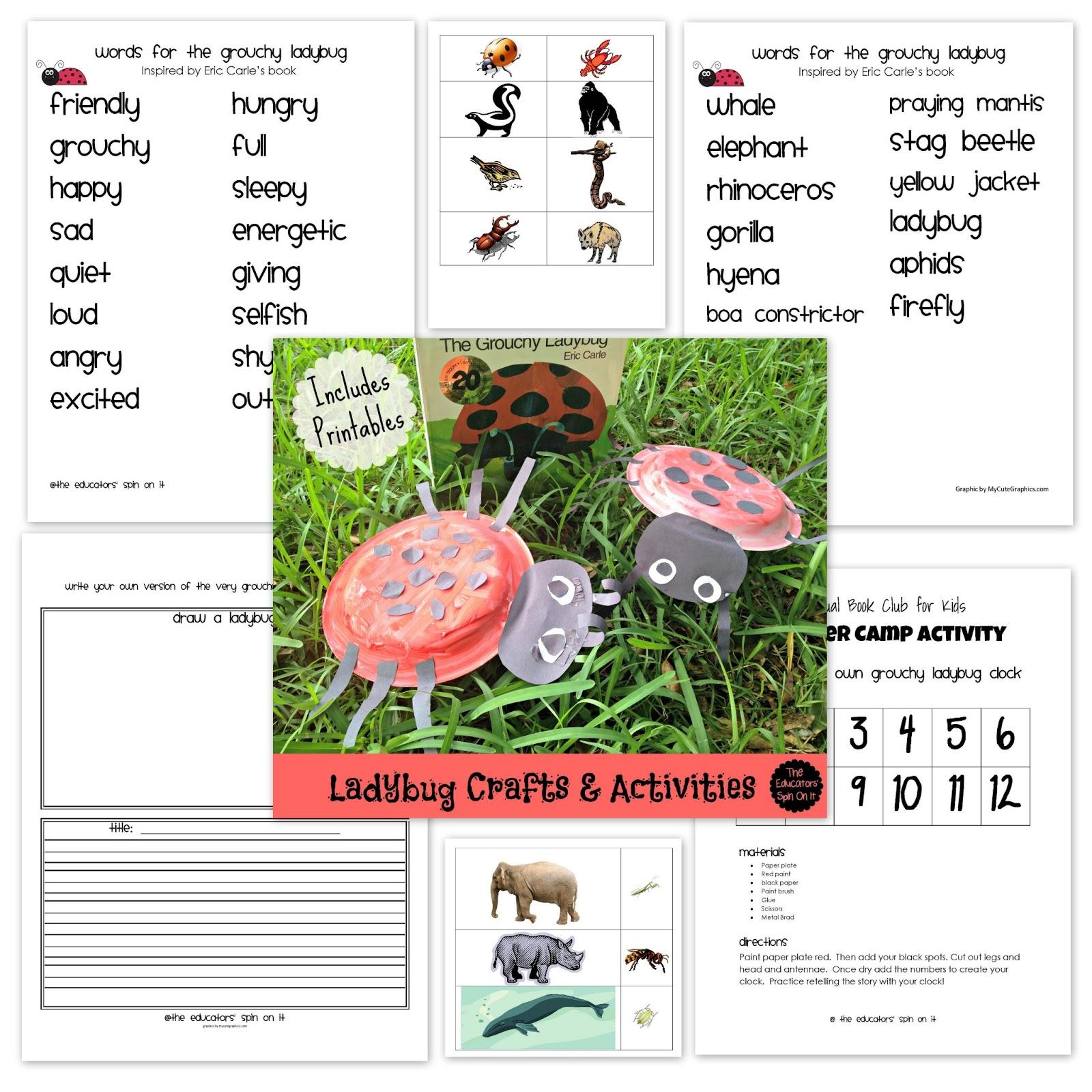 ladybug science with kids the educators u0027 spin on it