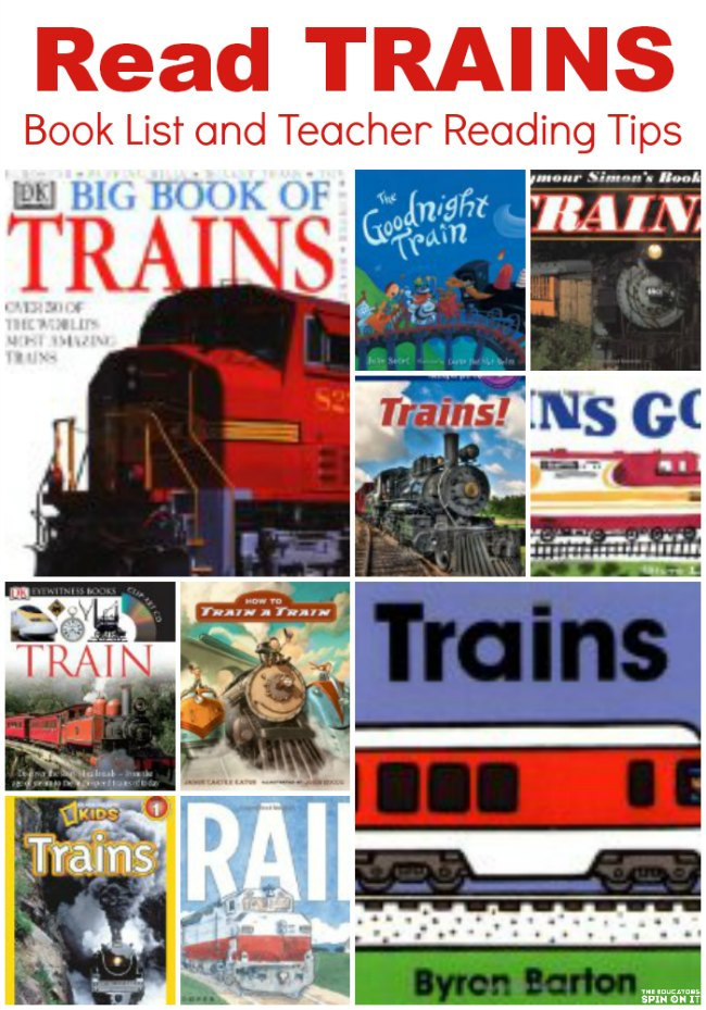 Train Books for Kids