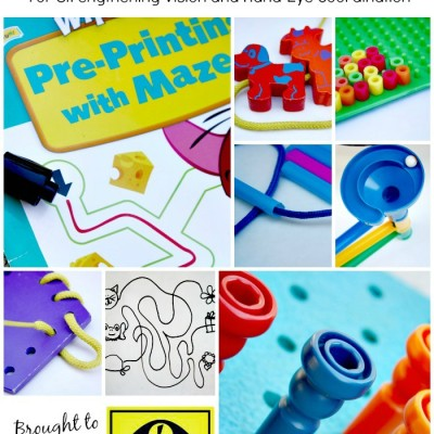Fine Motor Activities for Vision and Hand-Eye Coordination