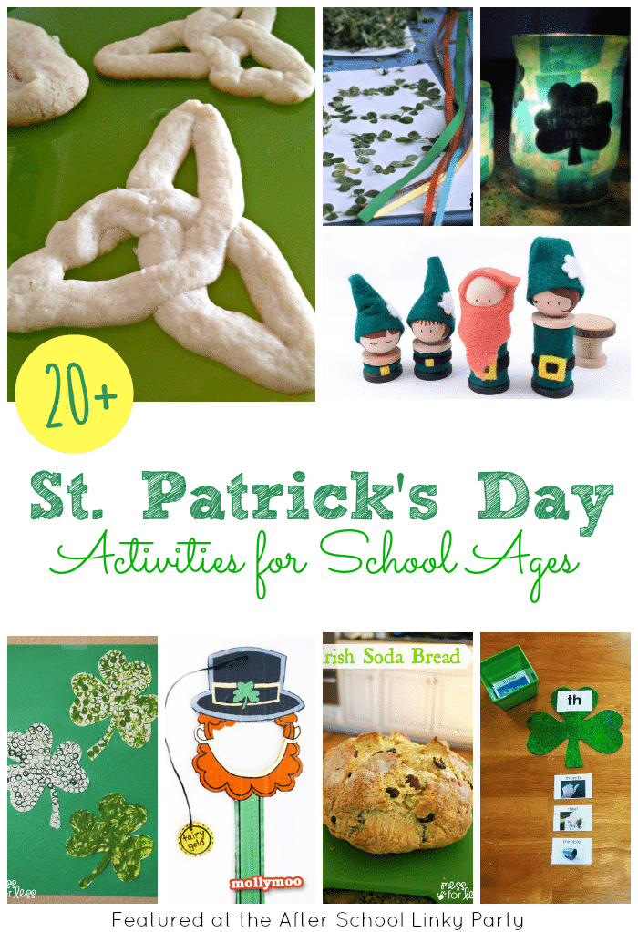 20+ St. Patricks' Day Activities for After School