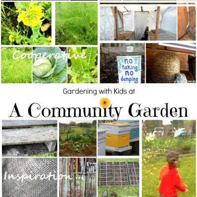 Garden Cooperative with Kids