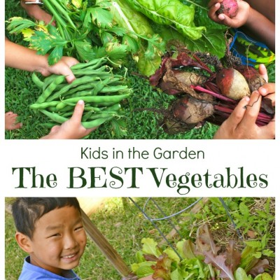 Kids Gardening; Best Vegetables to Grow with Kids
