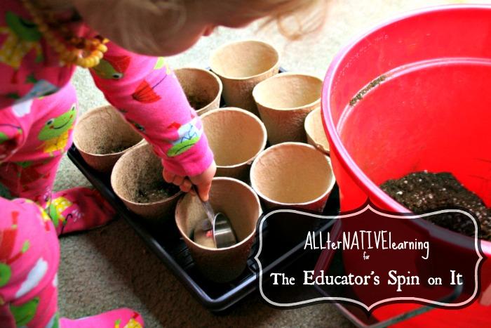 kids gardening activities planting seeds