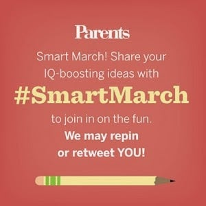 Announcing Fun Educational Activities for #SmartMarch on Pinterest