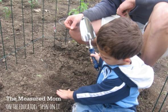 family garden (6) - the educators' spin on it