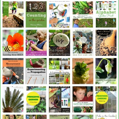 A month of ideas for gardening with kids