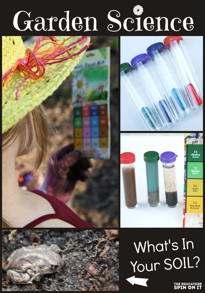 FUN and Easy science experiments for kids to learn more about soil this spring.